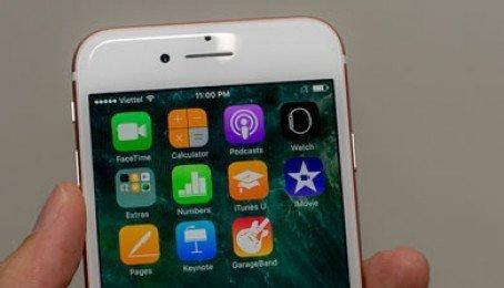 iPhone 7 Lock có lên iOS 11 được không ?