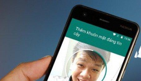 Hướng dẫn thiết lập mở khóa bằng khuôn mặt trên các máy Android