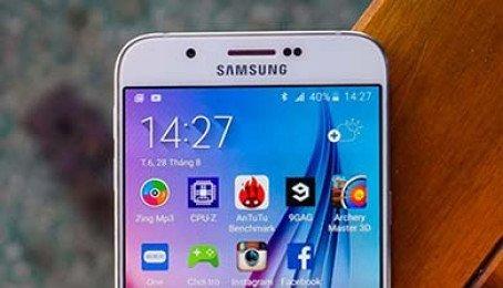 Galaxy A8 2018 lộ ảnh thực tế mặt trước với màn hình vô cực, camera selfie kép
