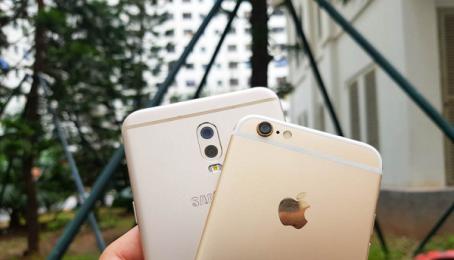 So sánh giữa Samsung Galaxy J7+ và iPhone 6 32GB - Nên mua máy nào hơn?