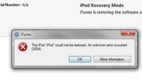 Hướng dẫn sửa iPhone lỗi 3004 khi Restore lại máy