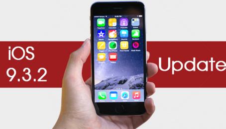 Nâng cấp hệ điều hành IOS 9.3.2 mới nhất cho IPhone