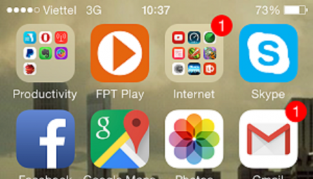 Hướng dẫn cách thay đổi tài khoản Apple ID mới trên IPhone 6