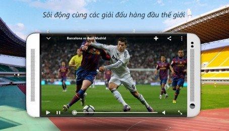 Tổng hợp những phần mềm xem bóng đá trực tiếp trên iPhone 6 Plus