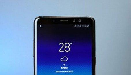 Tắt lớp phủ màn hình Samsung Galaxy A8 (2018), A8 Plus (2018)