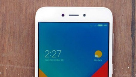 Tắt lớp phủ màn hình Xiaomi Redmi 5A