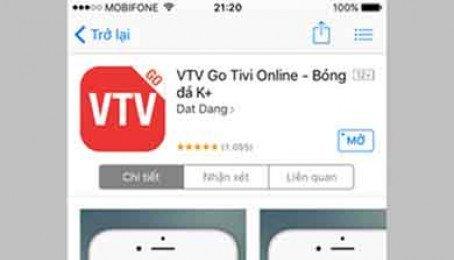 Xem bóng đá trực tuyến trên iPhone và Android