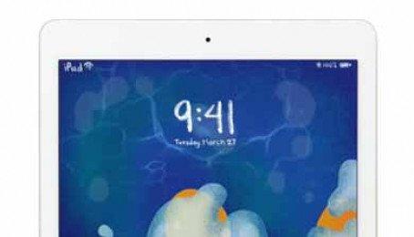 Ảnh chụp từ Apple iPad 9.7 (2018)