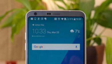 Những lỗi thường gặp trên LG G6?