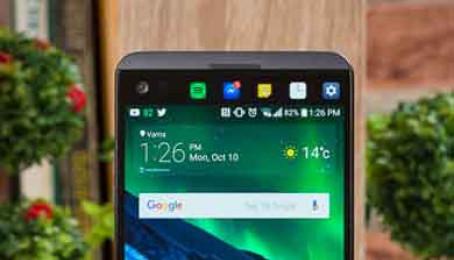 So sánh LG V20 với LG G7
