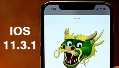 Các lỗi khi nâng cấp iOS 11.3.1