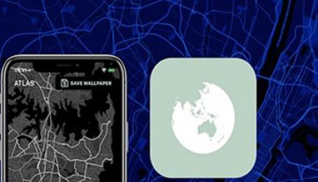 Hướng dẫn tạo hình nền bản đồ đẹp, độc, lạ trên iPhone