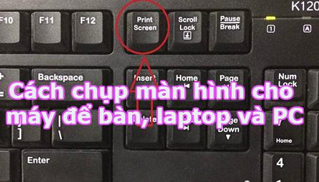 Chụp ảnh màn hình Laptop DELL đơn giản và nhanh chóng