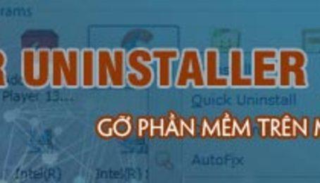 Phần mềm gỡ bỏ ứng dụng Your Uninstaller, xóa tận gốc file thừa, lỗi trên máy tính