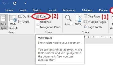 Hướng dẫn cách đặt dòng chấm bằng tab trong Word 2010