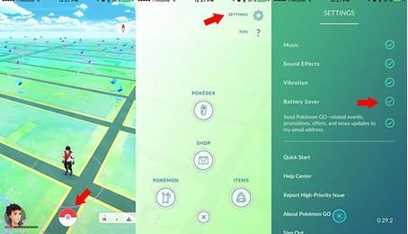 Hướng dẫn cách chơi Pokemon Go trên điện thoại