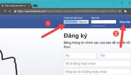 Cách lấy lại mật khẩu nếu quên mật khẩu facebook