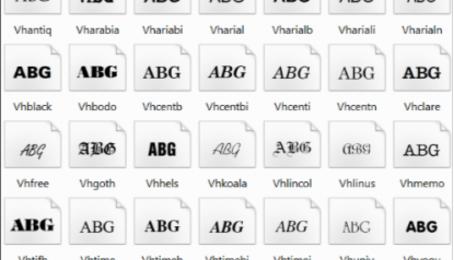 Tải Font full - Cách cài bộ phông chữ đầy đủ cho máy tính