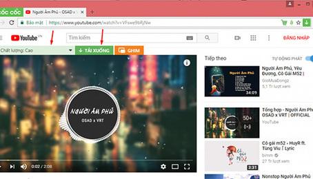 Cốc cốc ứng dụng - lướt web, nghe nhạc, tải video