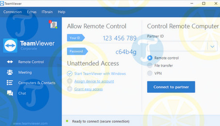 TeamViewer - kết nối máy tính từ xa