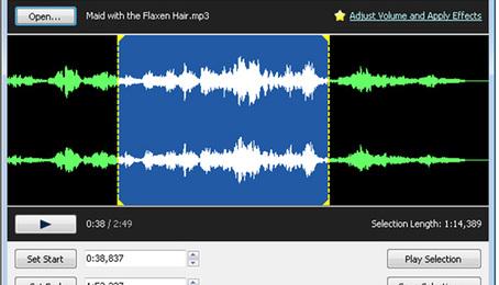 Free MP3 Cutter - Phần mềm cắt nhạc chuyên nghiệp