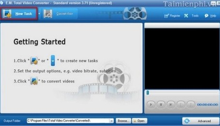 Total Video Converter - Phần mềm chuyển đổi định dạng video và audio cực nhanh