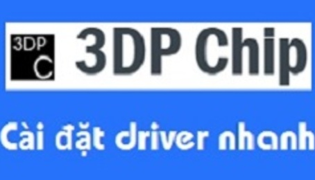 Hướng dẫn tải và cập nhật driver bằng 3dp chip