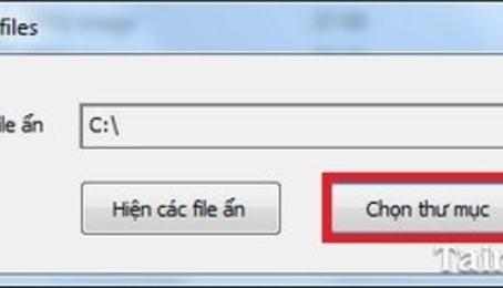 Phục hồi file ẩn do virus với phần mềm hiện file ẩn FixAttrb Bkav