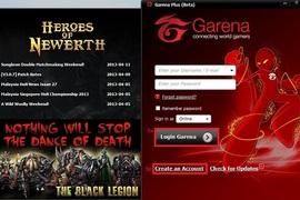 Hướng dẫn tạo tài khoản Garena chơi game LOL, FIFA Online 3, Dota