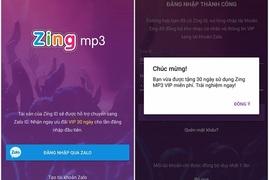 Cách đăng ký Zing VIP để tải nhạc miễn phí trên Zing MP3