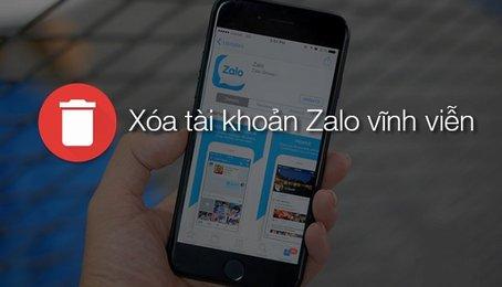 Hướng dẫn xóa tài khoản Zalo trên điện thoại di động