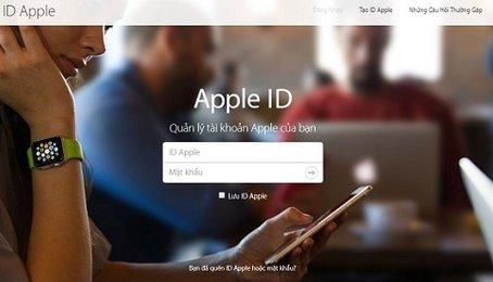 Cách tắt tính năng bảo mật hai bước cho tài khoản Apple ID