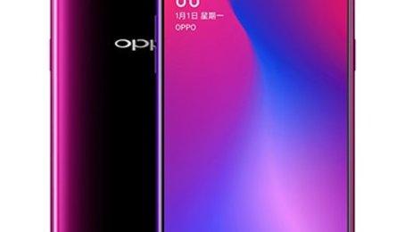 OPPO R17 cảm biến vân tay dưới màn hình chạy chip Snapdragon 670