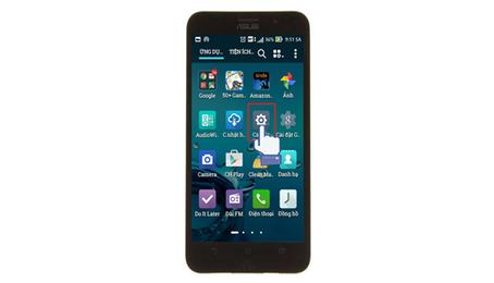 Cách chụp ảnh màn hình điện thoại Asus
