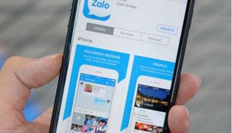 Không vào được Zalo trên iPhone, Xiaomi, Samsung...