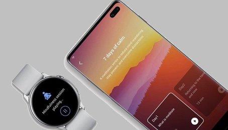 Samsung tuyên bố hợp tác với Calm