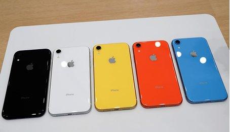 iPhone XR 2019 hiện nguyên hình
