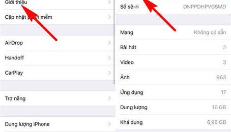 Cách kiểm tra iPhone Lock giả iPhone quốc tế