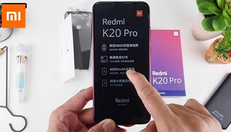 Redmi K20 lộ ảnh thực, thông số và nhiều tính năng quan trọng
