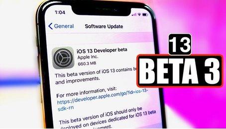 Đã có iOS 13 beta 3? bản cập nhật mới nhất cho iOS 13 của Apple