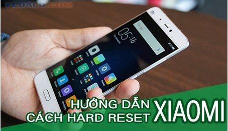 Cài đặt lại thiết bị cho điện thoại Xiaomi, khôi phục cài đặt gốc cho điện thoại Xiaomi