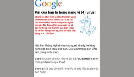Quét virus cho điện thoại Android. Diệt virus cho điện thoại Android
