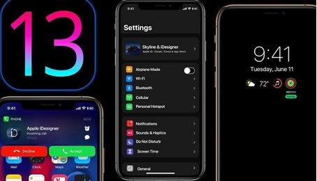 Chế độ Night Mode trên iPhone iPad (chế độ đảo ngược màu sắc trên iPhone iPad)