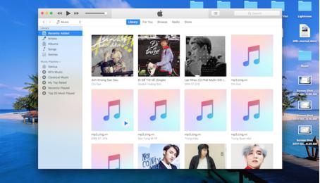 Tải nhạc, download nhạc trên điện thoại iPhone iPad