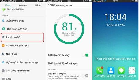 Mẹo tiết kiệm Pin trên điện thoại Android, tăng thời lượng Pin trên điện thoại Android
