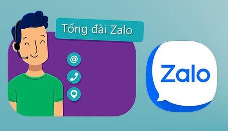 Số tổng đài Zalo, số điện thoại tổng đài Zalo, số hỗ trợ Zalo