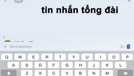 Không gửi được tin nhắn đến tổng đài, lỗi không gửi được SMS cho tổng đài