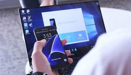 Sử dụng Smart Switch trên PC, dùng Smart Switch để chuyển dữ liệu từ điện thoại sang PC