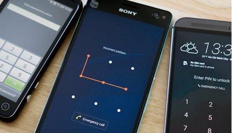 Cài mật khẩu và hủy mật khẩu trên điện thoại Android, bỏ mật khẩu khóa màn hình trên điện thoại Android