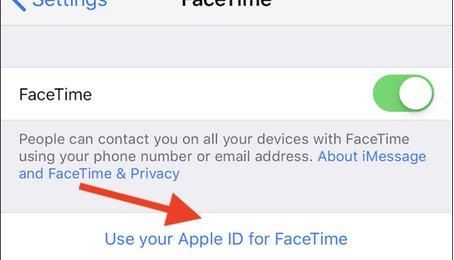 Lỗi Facetime, gọi Facetime không nghe được, gọi điện qua Facetime không có hình ảnh